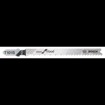 Bosch Jogo de 3 Lâminas de serra vertical T 101 B Clean for Wood