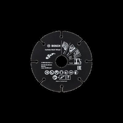 Bosch Disco Multiwheels de carboneto polivalente
