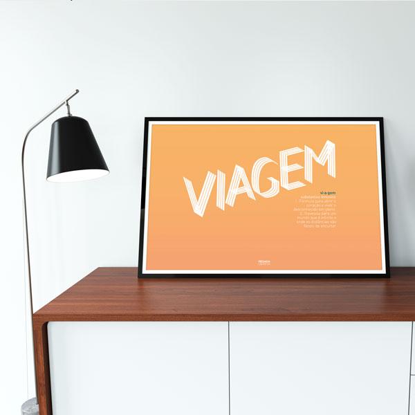 Poster Viagem