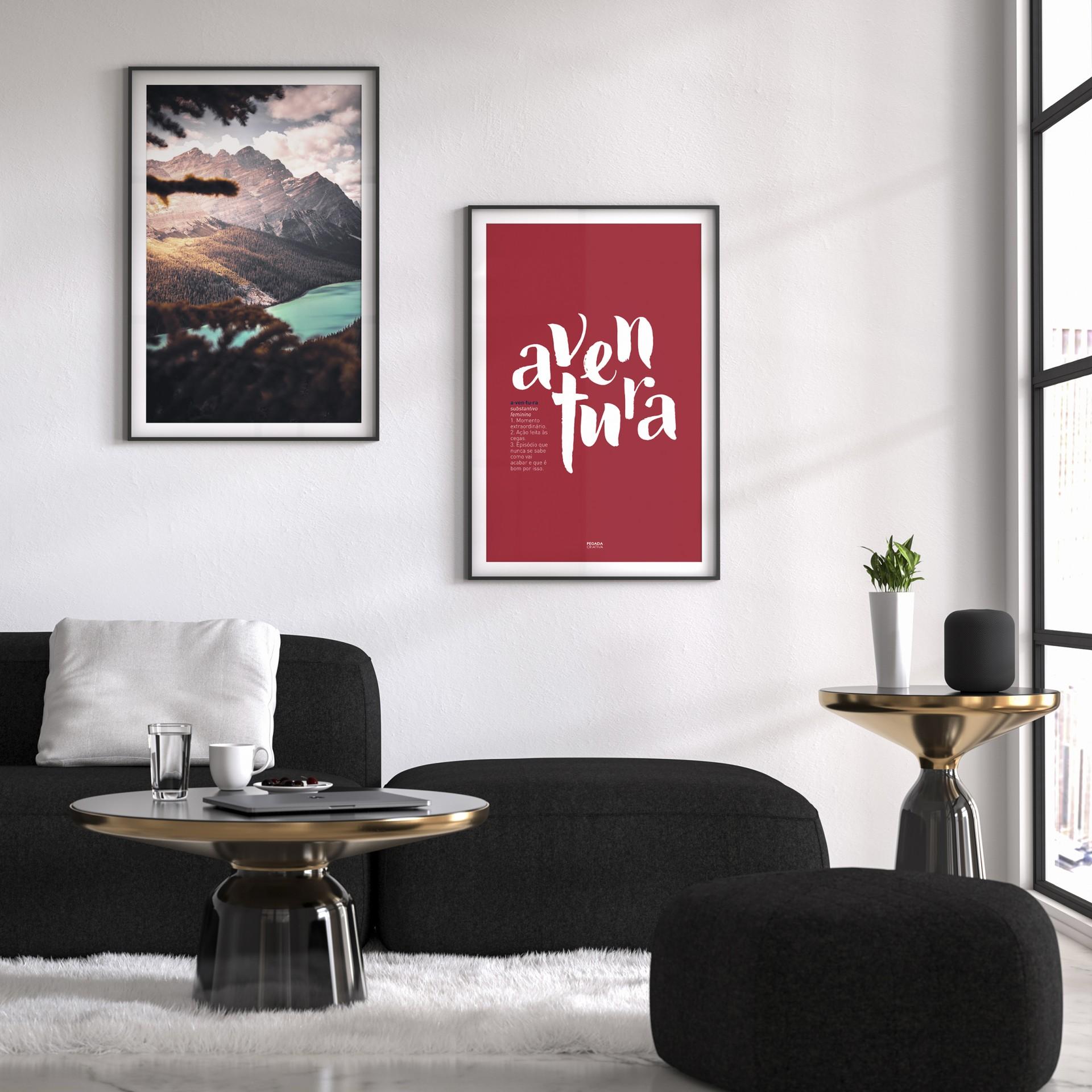Poster Aventura