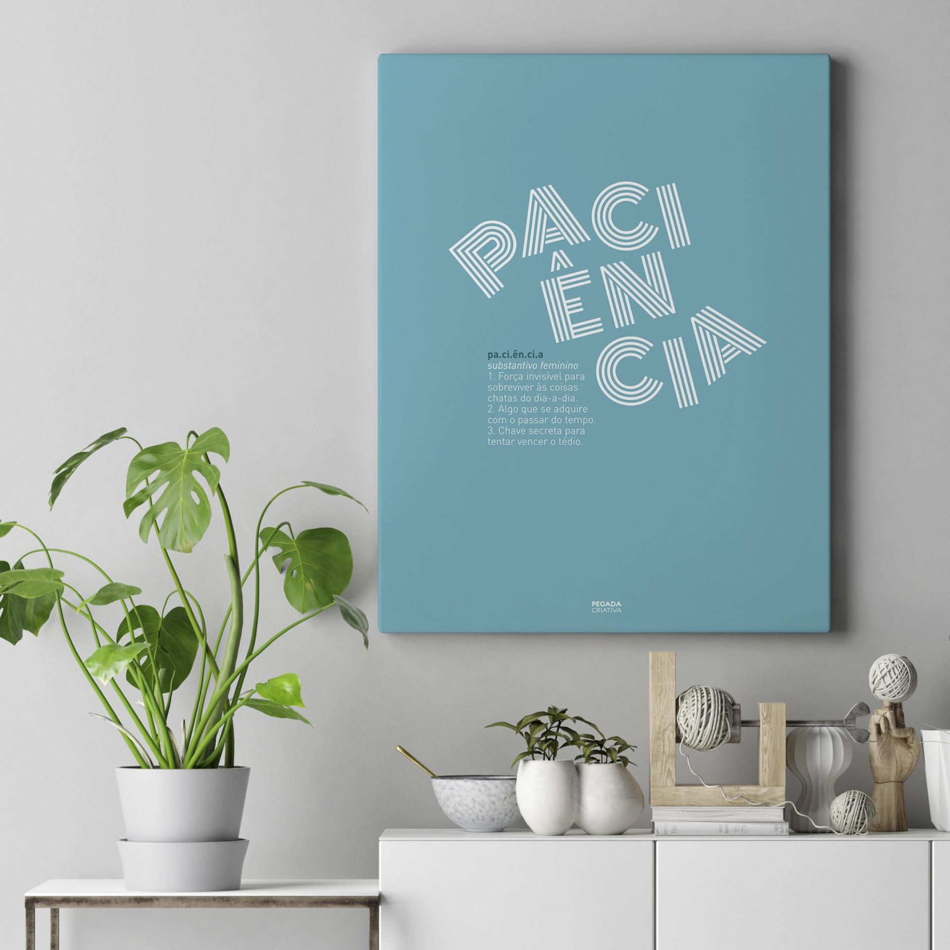 Poster Paciência