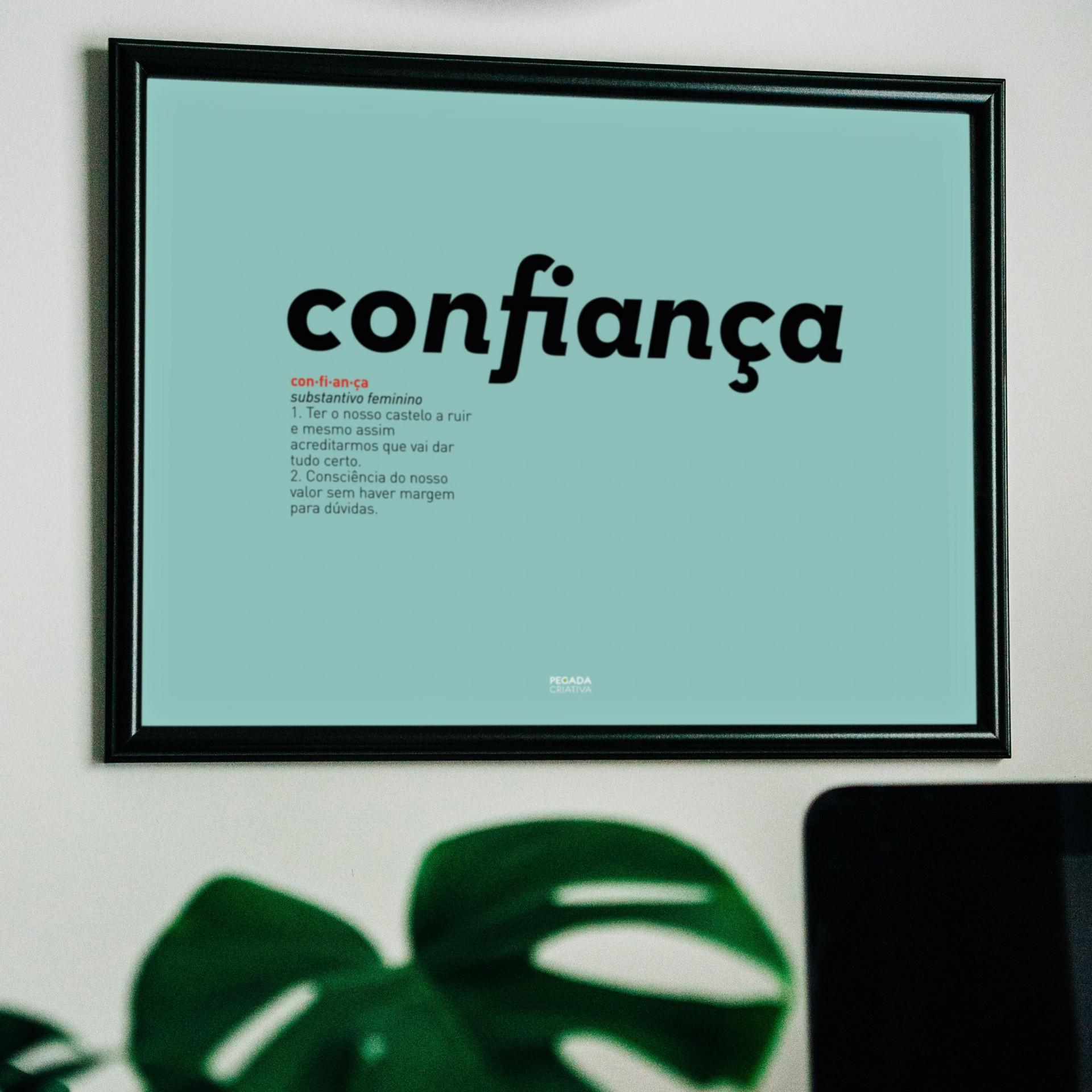 Poster Confiança
