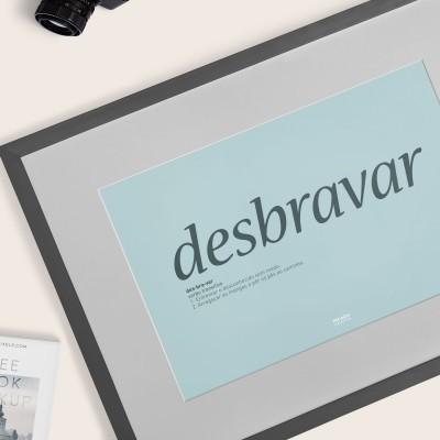 Poster Desbravar