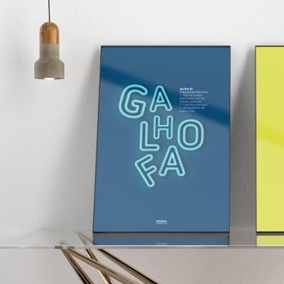 Poster Galhofa