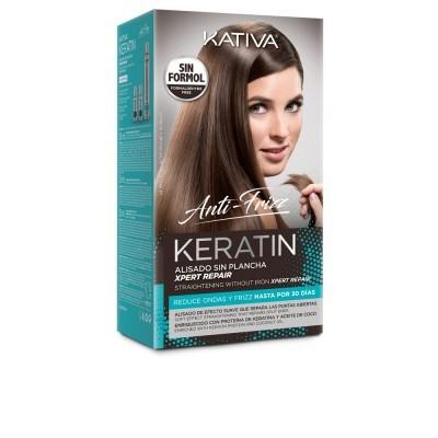 Kativa - Keratin - Anti-Frizz - alisado sin plancha repara puntas
