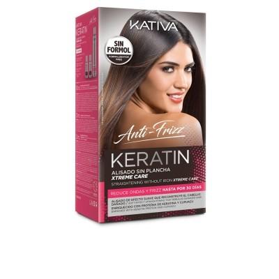 Kativa - Keratin Anti-Frizz alisamento sem ferro xtrem care 30 dias