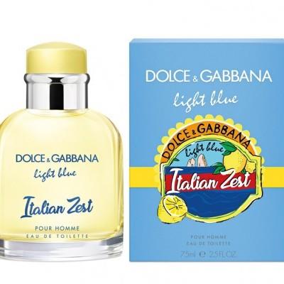 Dolce & Gabbana - Light Blue Italian Zest pour Homme - eau de toilette
