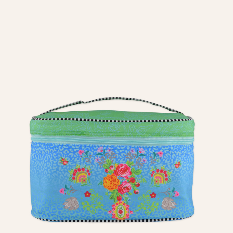 Happiness - Necessaire Wild Rose Turqoise