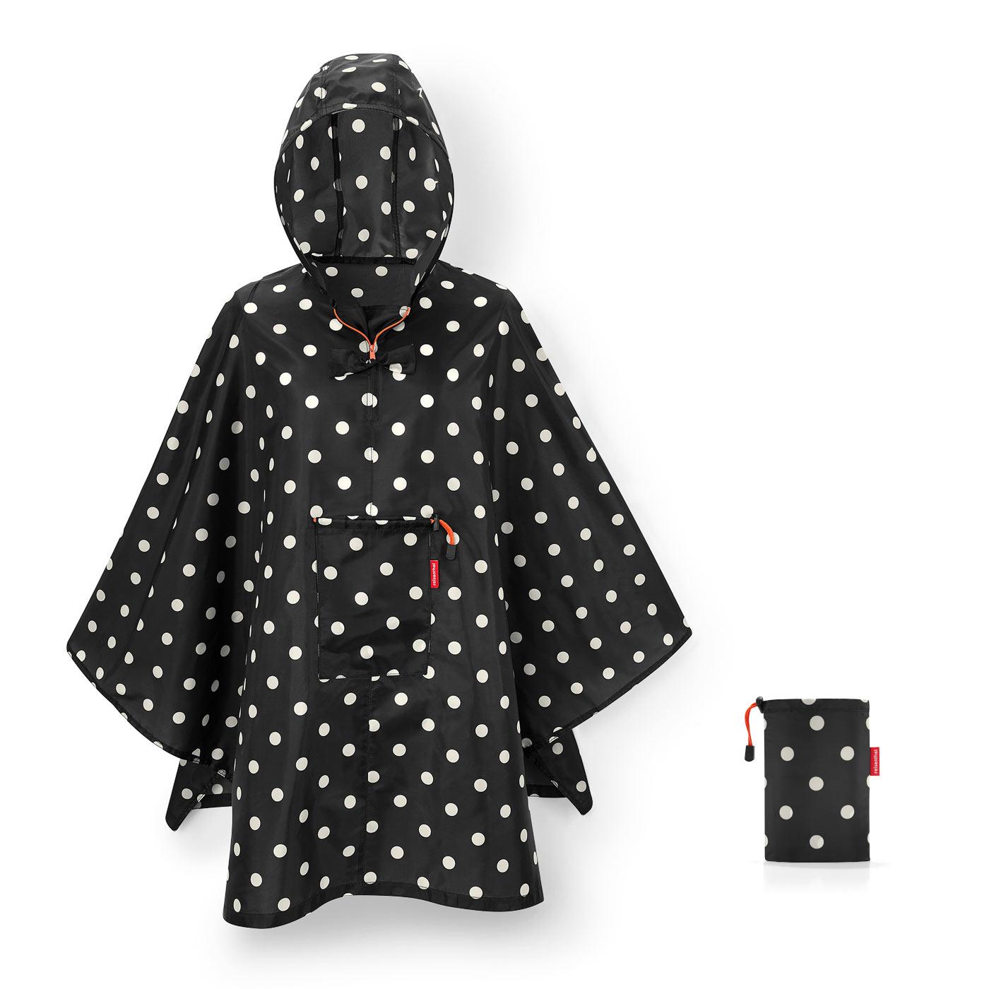 Reisenthel capa chuva desdobravel mini maxi poncho mixed dots