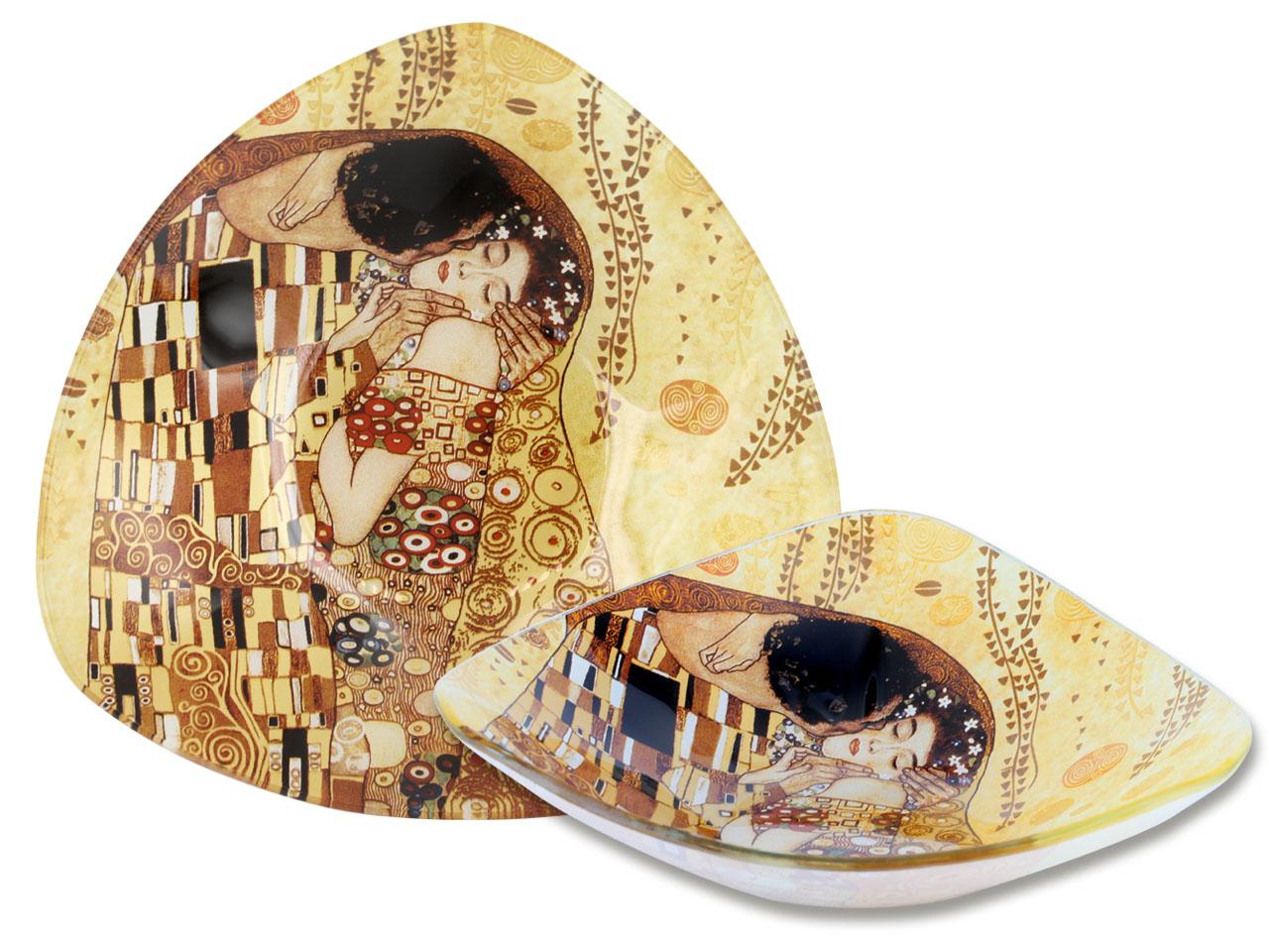 Mestres da pintura - Klimt- O Beijo - Tigela