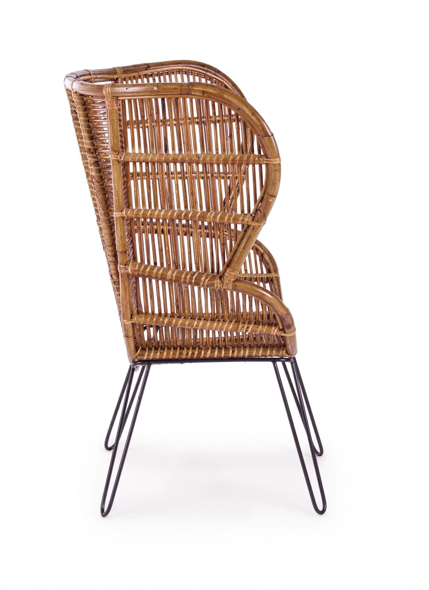 Cadeirao Rattan costa alta