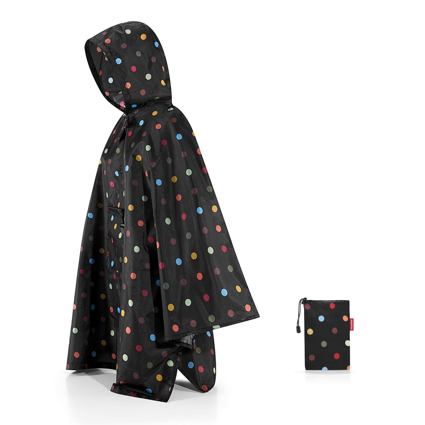 Reisenthel capa chuva desdobravel mini maxi poncho dots