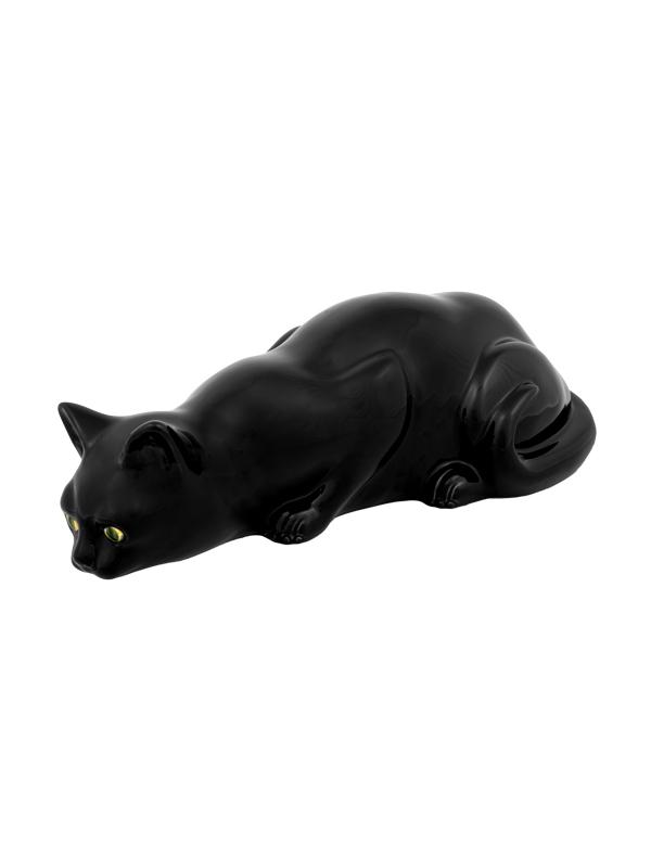 Bordallo Pinheiro - Gato - Gato a Caçar