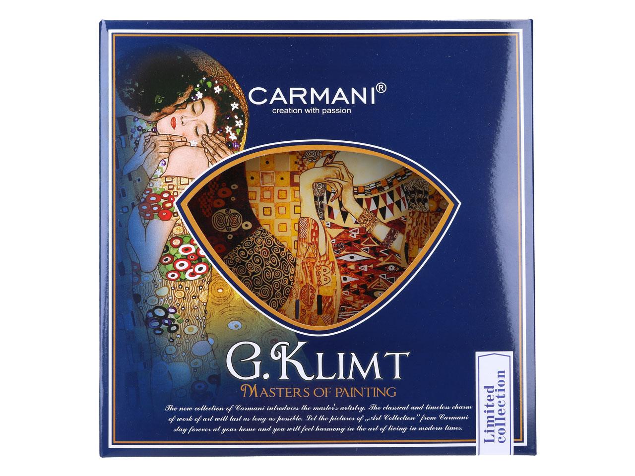 Mestres da pintura - Klimt- Adele - Prato 25cm