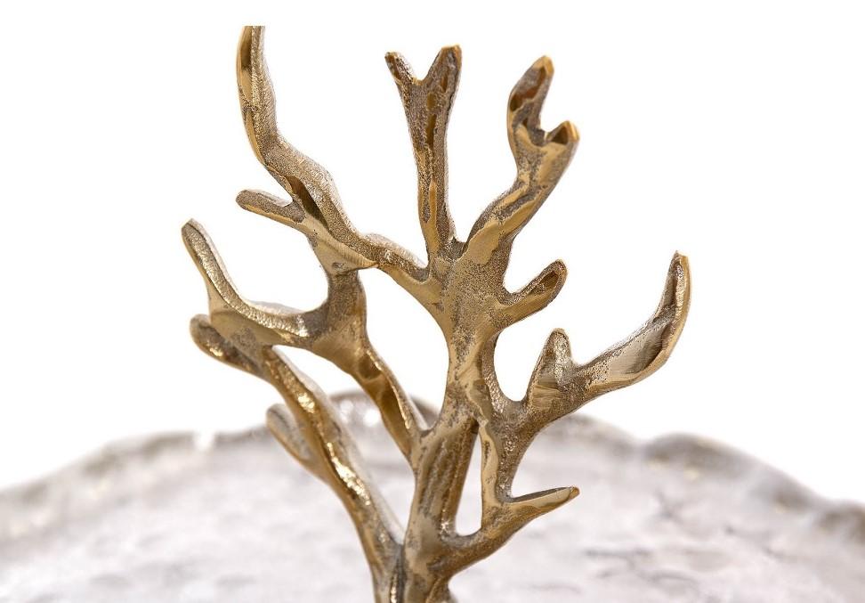 Fruteira um prato coral