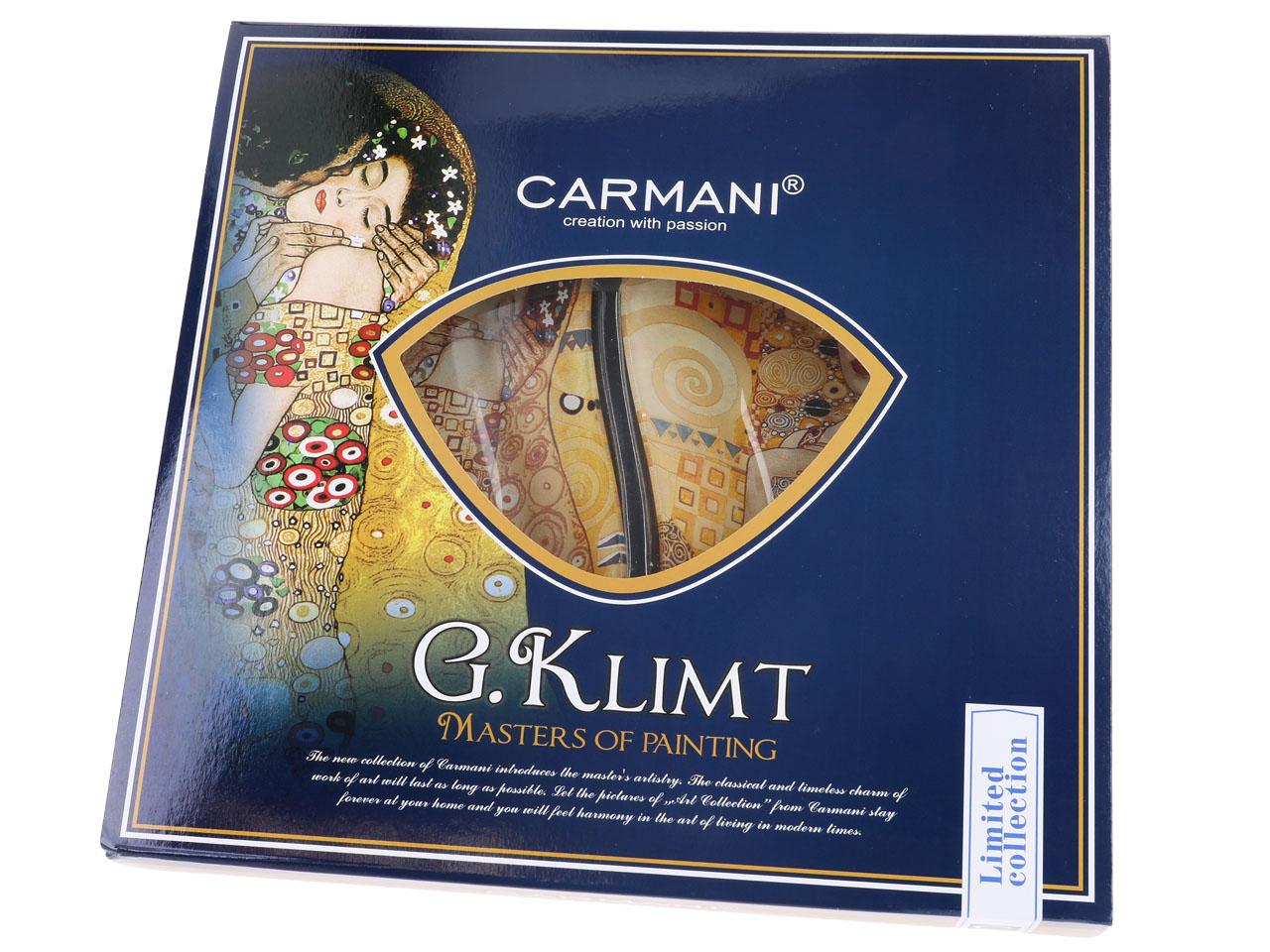 Mestres da pintura - Klimt- Adele/O Beijo - Prato