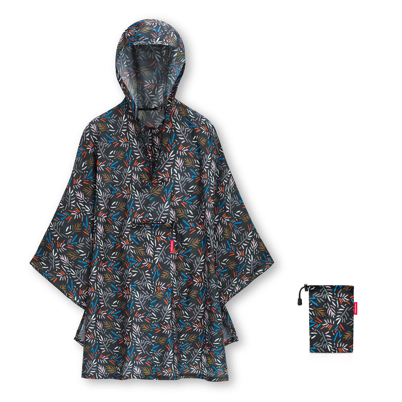 Reisenthel capa chuva desdobravel mini maxi poncho Autumm