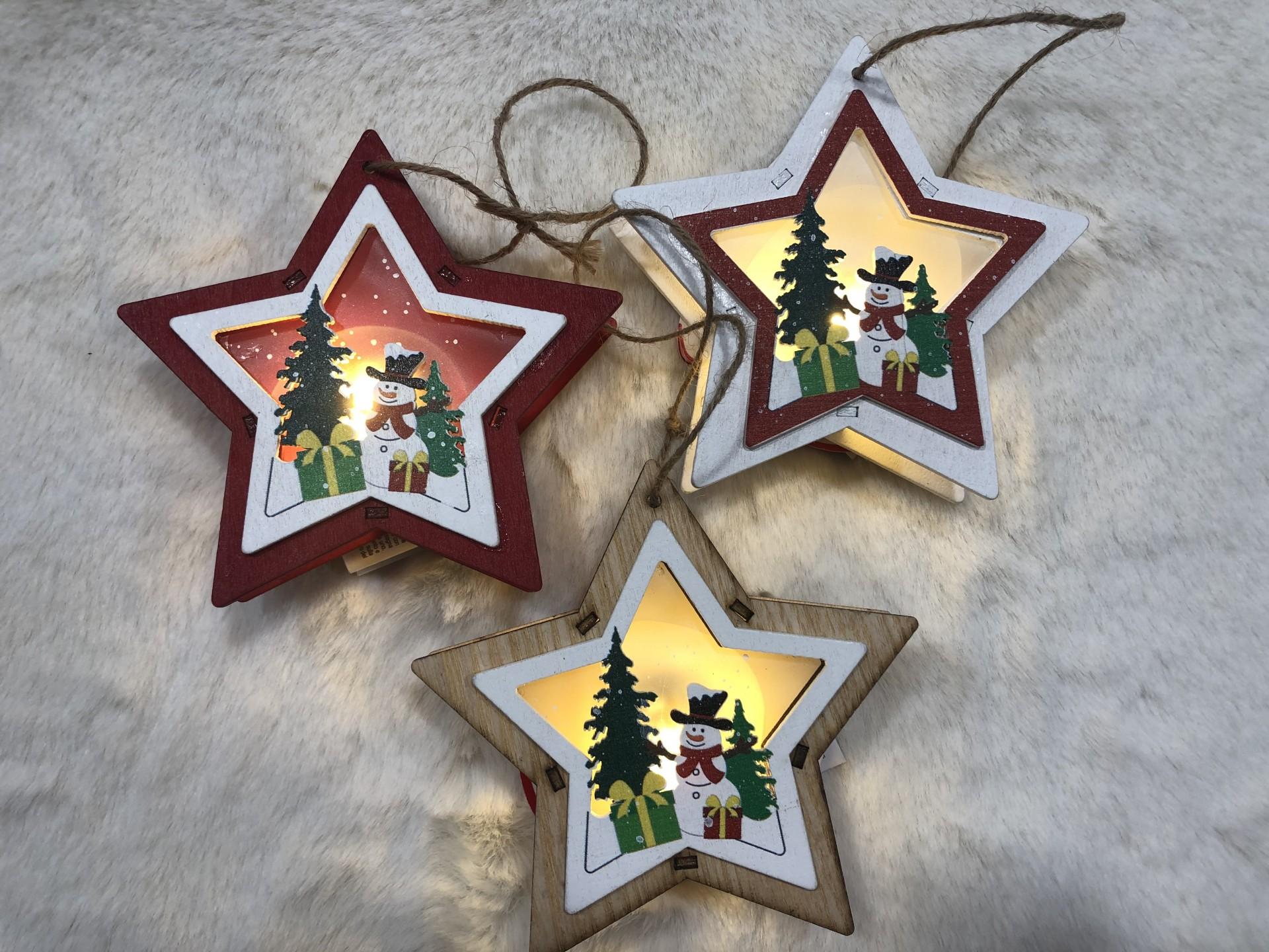 Pendente Natalício com Luz