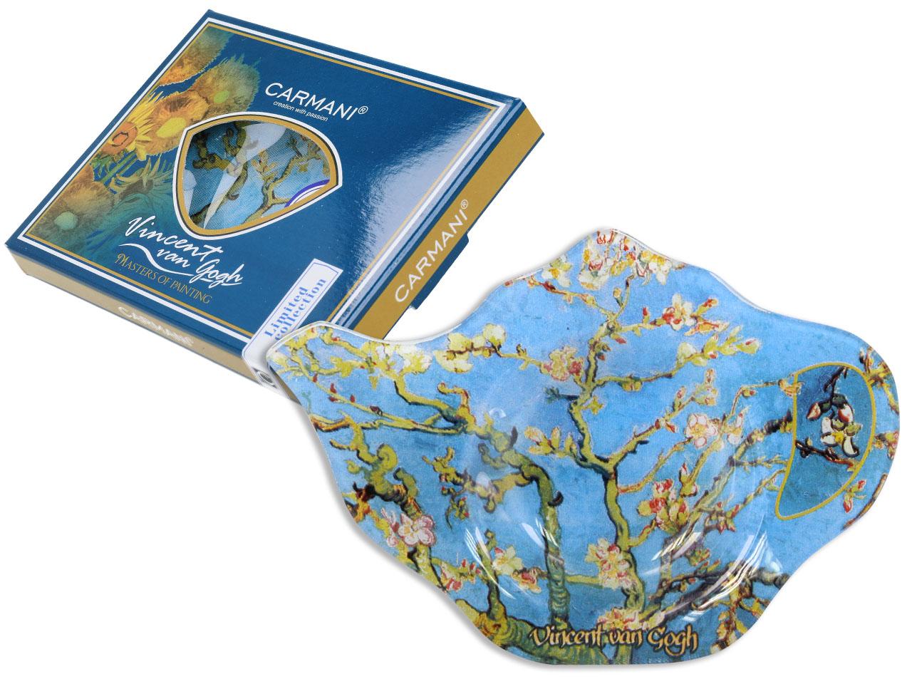 Mestres da pintura - V. Van Gogh - Amendoeira - Pousa saquetas chá Vidro