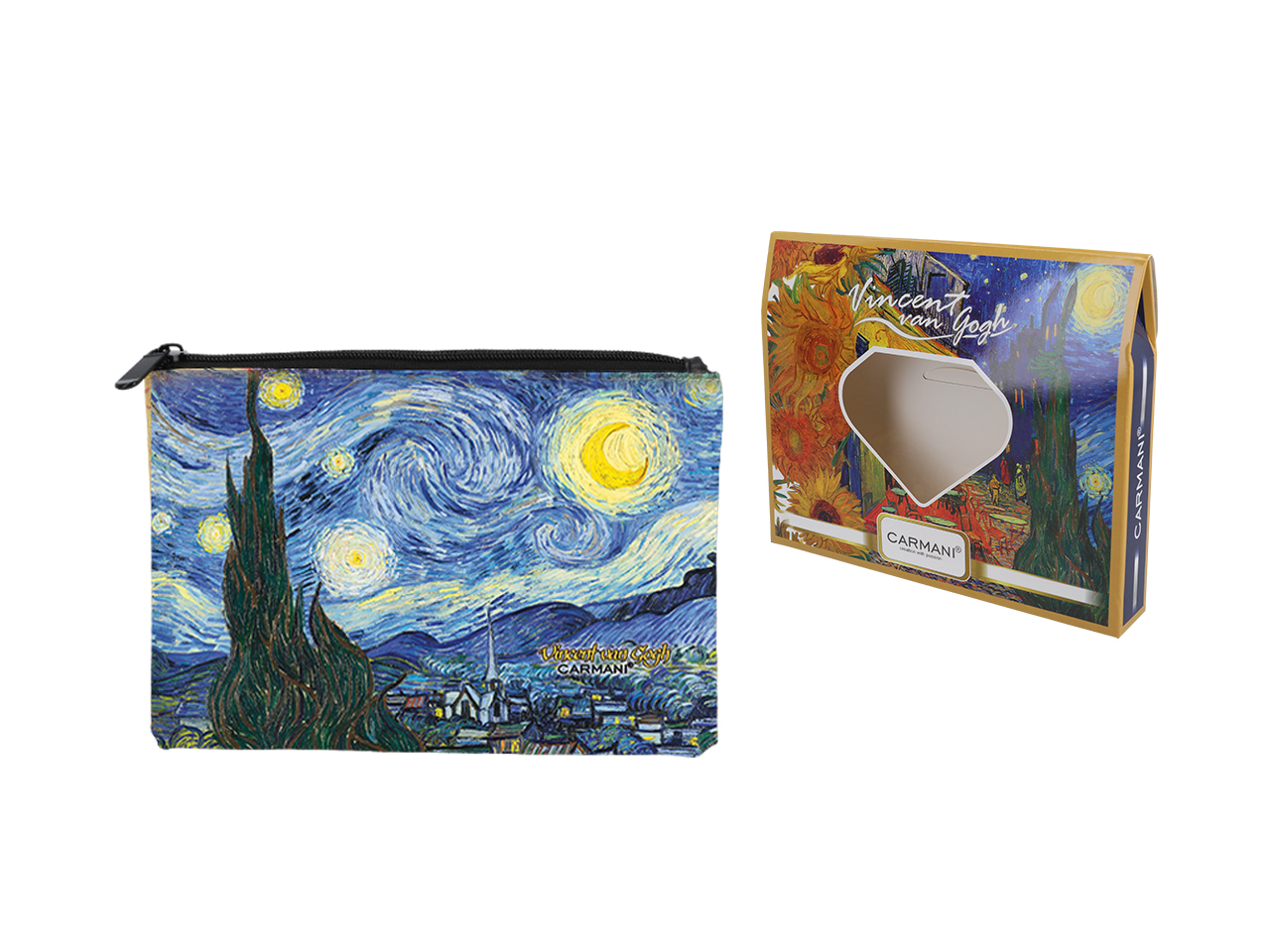 Mestres da pintura -V. Van Gogh- Noite Estrelada - Necessaire