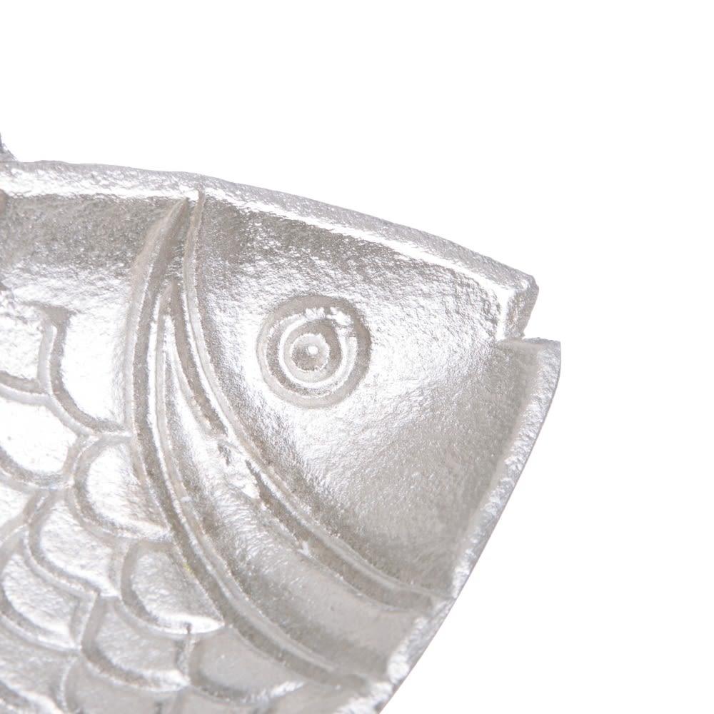 Peixe/Taça Alumínio Decorativo