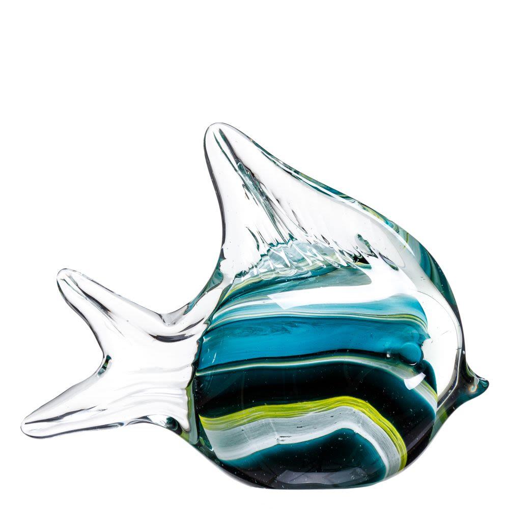 Figura de peixe em vidro