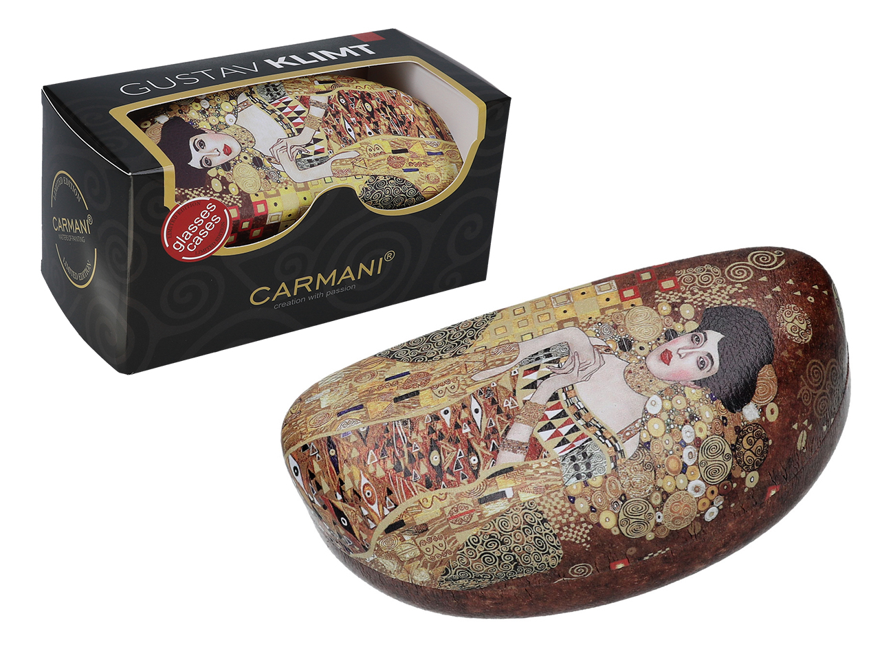 Mestres da pintura - G. Klimt - Adela - Caixa para óculos