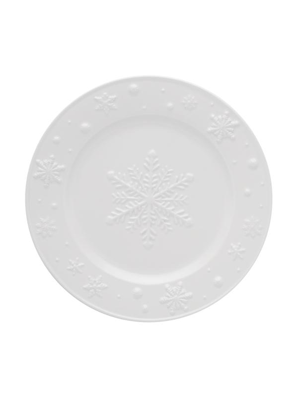 Bordallo Pinheiro - SNOWFLAKES - Prato de fruta 22