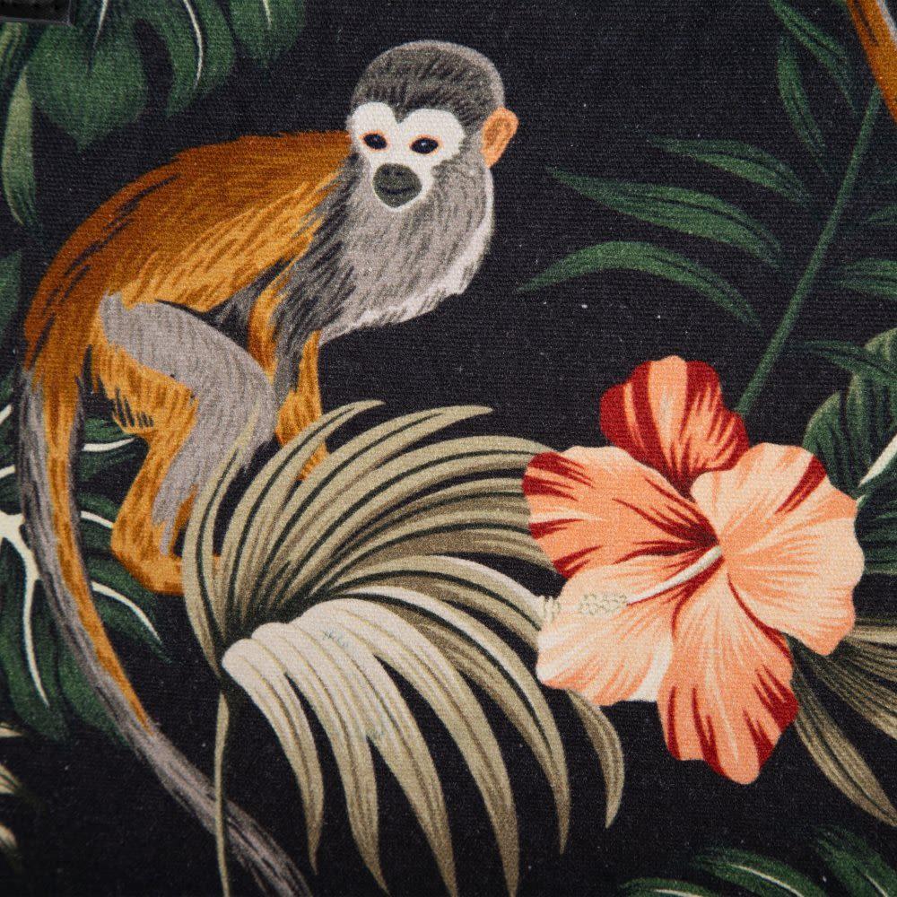 Mala com Macacos Negro