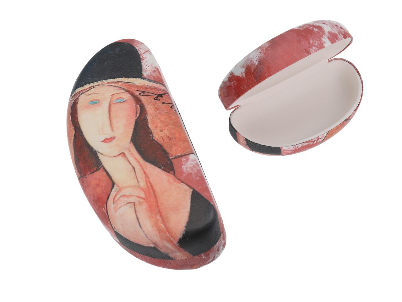 Mestres da pintura - A. Modigliani - A Mulher - Caixa para óculos