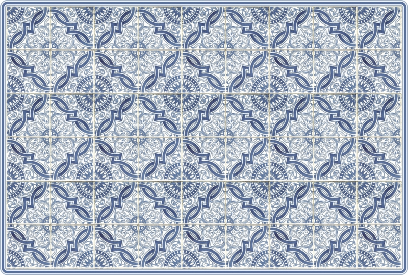 IHR- individual-placemate azulejo Lorenzo