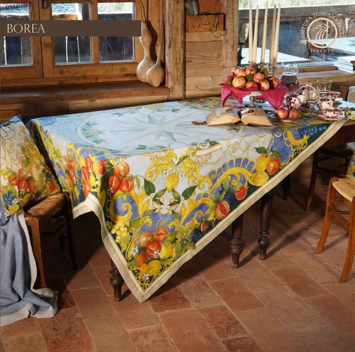 Tessitura Toscana - Toalha 100% Linho - Borea