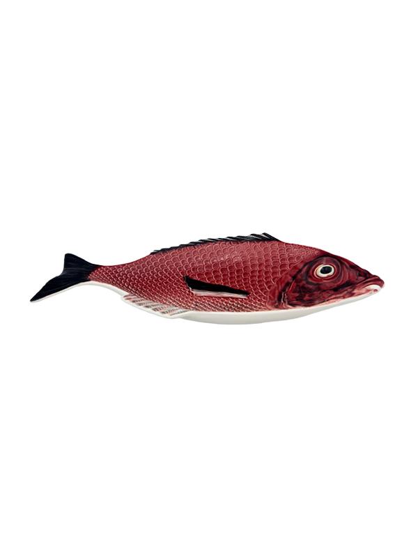 Bordallo Pinheiro - Peixe Travessa 42 cms