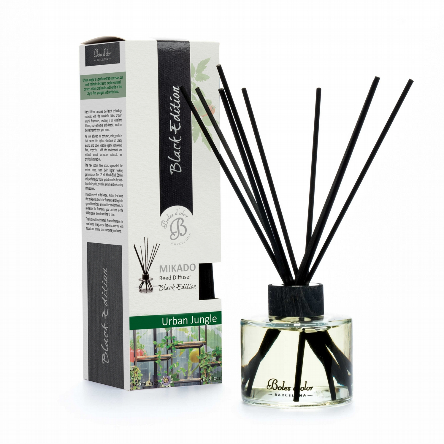 BOLES D'OLOR - MIKADO AMBIENTADOR URBAN JUNGLE 125ML