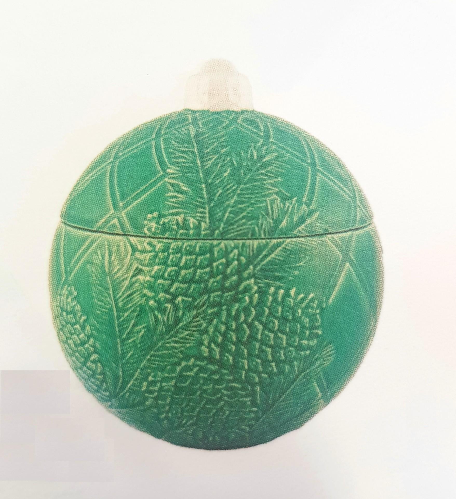 Bordallo Pinheiro - Bolas de Natal - Caixa 26