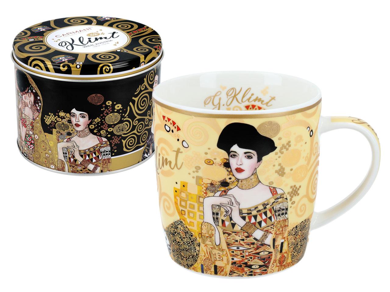 Mestres da pintura - Klimt - Adele - Caneca+Lata