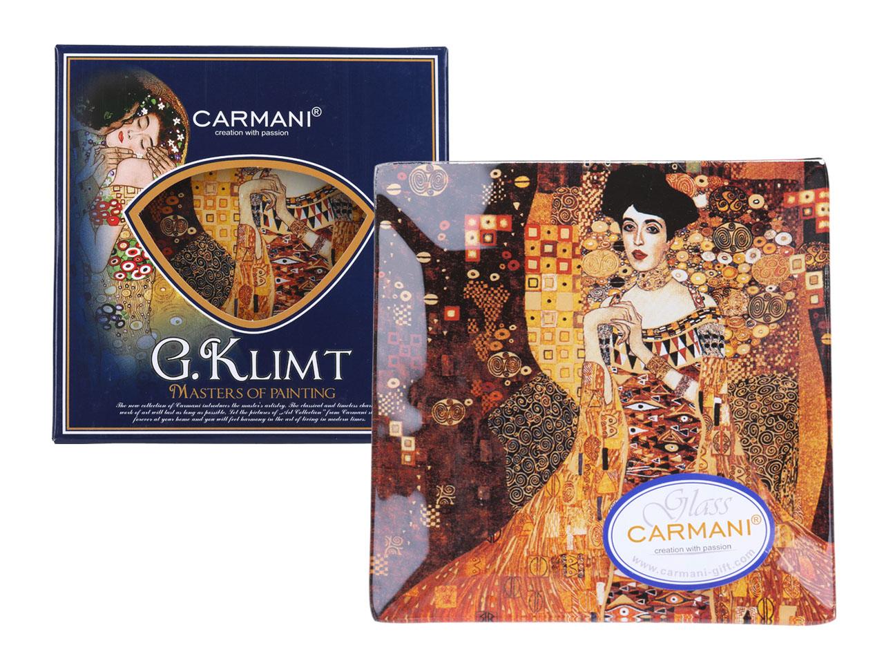 Mestres da pintura - Klimt- Adele - Prato 13cm