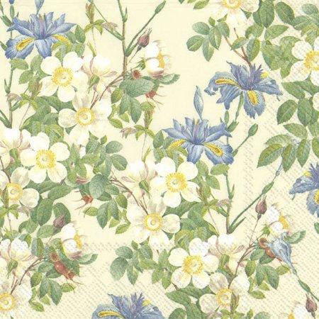 Guardanapos de papel macieira em flor