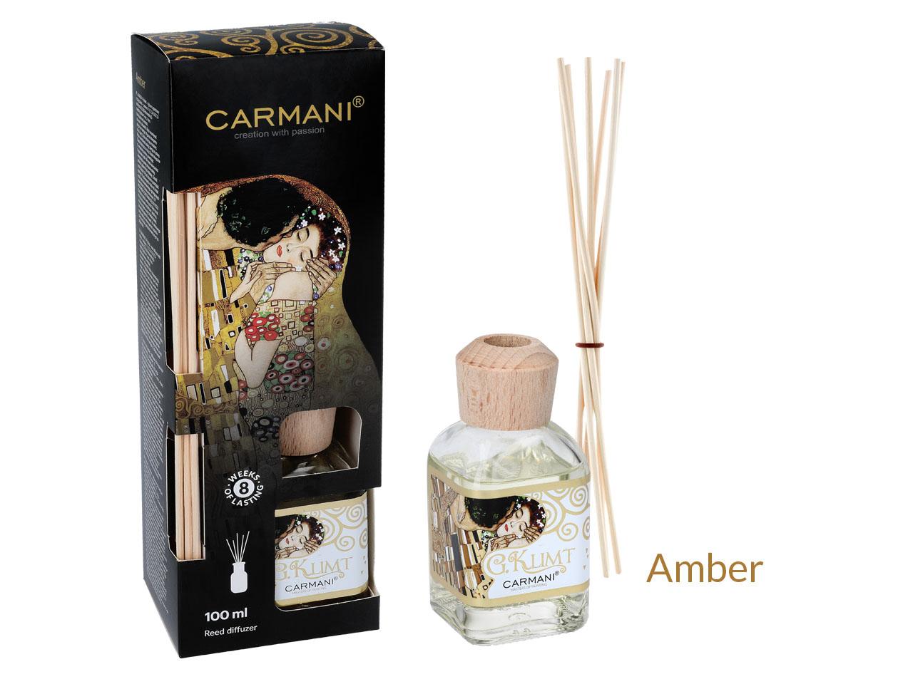 Mestres da pintura-Klimt ,O beijo mikado aroma amber