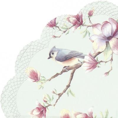Guardanapos redondos Sinfonia de primavera