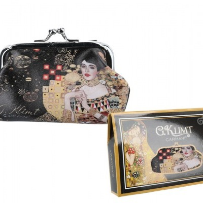 Mestres da pintura - Klimt - Adele - Carteira