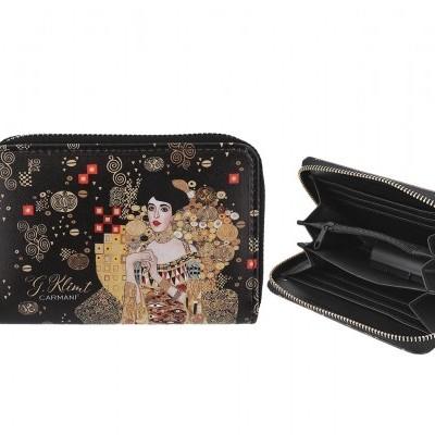 Mestres da pintura - Klimt- Adele - Carteira c/ Zip