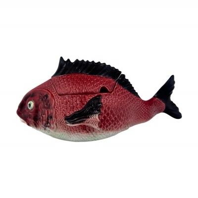 Peixes - Terrina Alta 3,3L, Bordallo Pinheiro