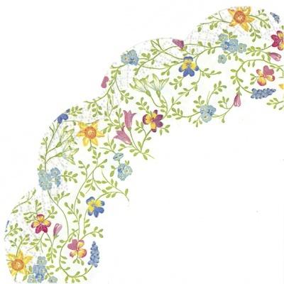 Guardanapos redondos Pretty in Spring