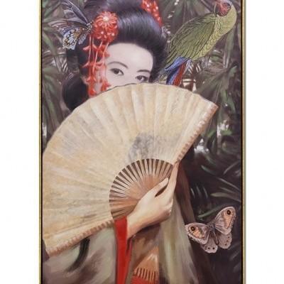 Quadro Geisha 80x120