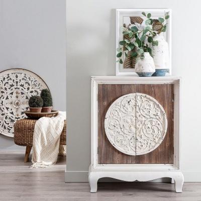 Movél armario madeira natural abeto79 X 40 X 96 CM