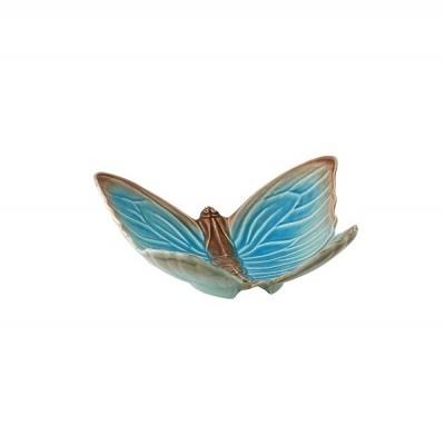 Bordallo Pinheiro - Fruteira ,borboleta Cloudy Butterflies - Claudia Schiffer