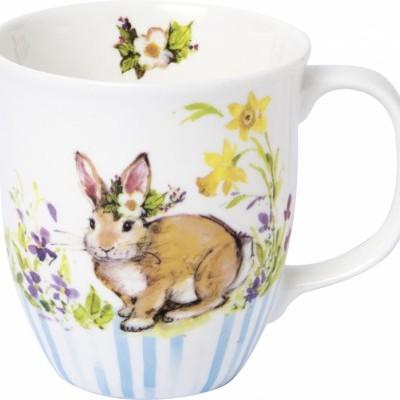 IHR- Caneca coelho no prado porcelana