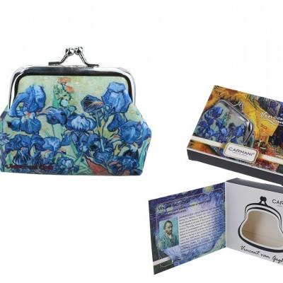 Mestres da pintura - V. Van Gogh - Iris - Carteira