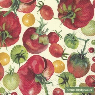Guardanapos de papel Tomates, Emma Bridgewater